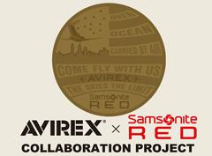 Samsonite RED(サムソナイトレッド)×AVIREXのコラボアイテム登場