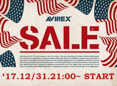 AVIREX|2017FWセールスタート!