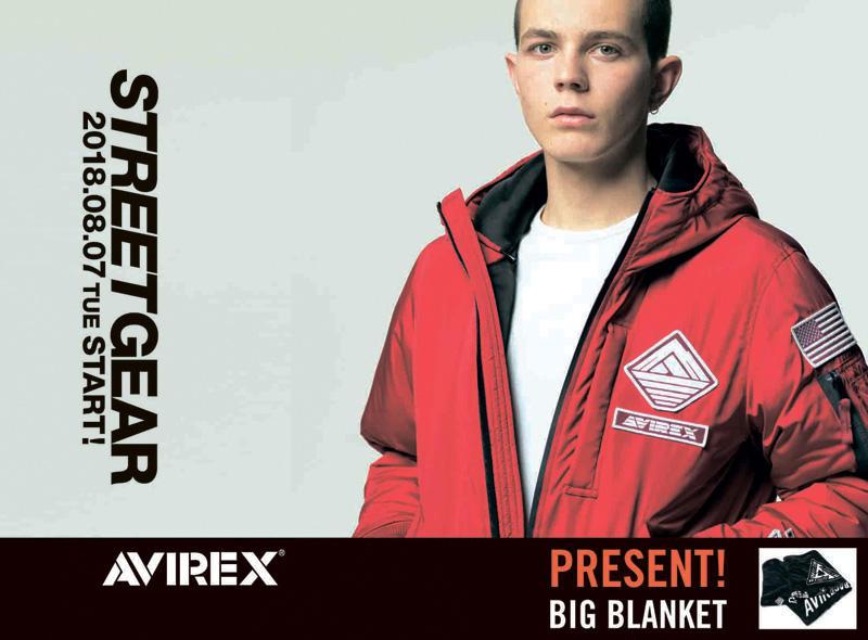 AVIREX|STREET GEAR コレクション発売開始!