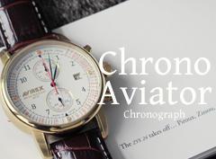 AVIREX|クロノ・アヴィエータ―腕時計登場