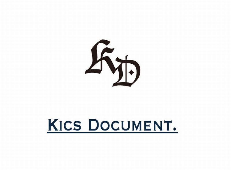Kics Document  2018SS