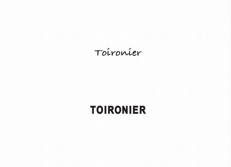 【GARDEN】Toironier 新作入荷&再入荷
