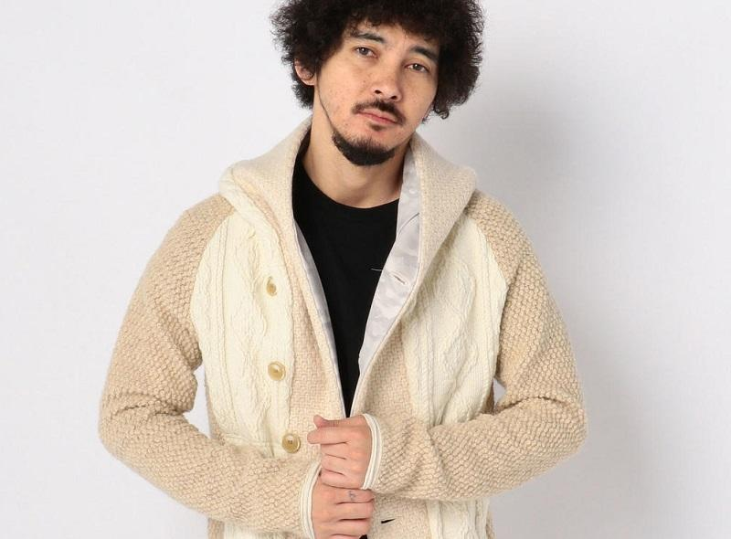 【ARMURE】『Safari 12月号掲載商品』 3mix cable knit parka入荷!!