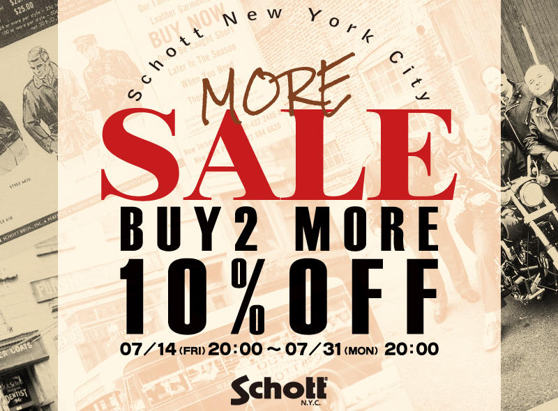 【Schott】BUY 2 MORE 10% OFF!!