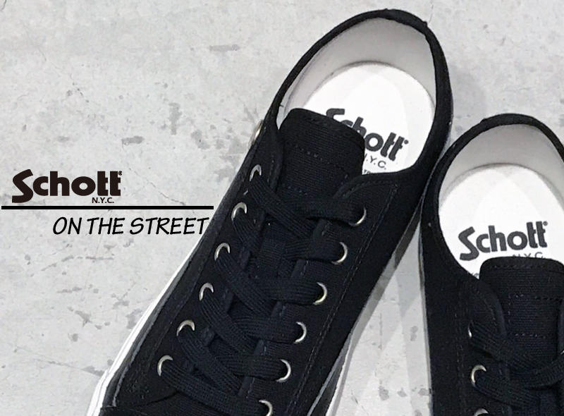 【Schott ONLINE STORE】Schott on the street