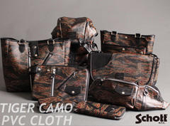 SCHOTT ORGINAL TIGER CAMO PVC CLOTH