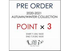 #Pre Order Point×3 Campaign(予約商品ポイント3倍キャンペーン)_20200703