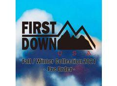 #FIRSTDOWN_Fall-Winter Collection 2021_Pre Order _20210803