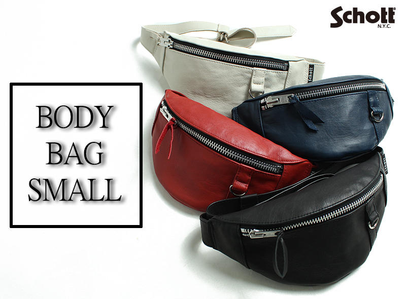 【Schott ONLINE】NEW ARRIVAL BODY BAG SMALL
